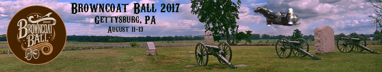 Browncoat Ball 2017 – Gettysburg PA